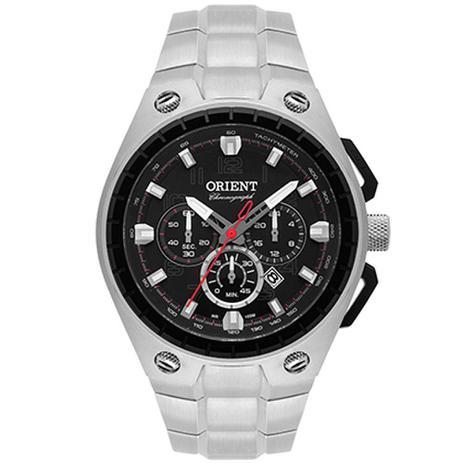 fabcf86f491 Relógio Masculino Orient Cronógrafo Mbssc171 P2sx - Prata - Relógio ...