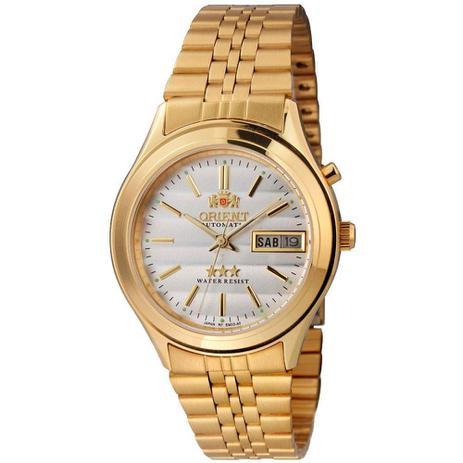 0984dd995ea Relógio Masculino Orient EM03A0-B1KX - Dourado - Relógio Masculino ...