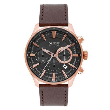 b96cb5932b0 Relógio masculino orient eternal mrscc013 g1mx marrom - Orient ...