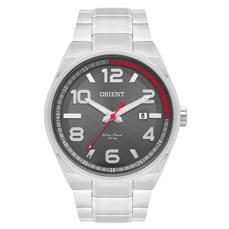 90f33ccb34b Relógio Masculino Orient Mbss1302 G2sx Prata - Relógio Masculino ...