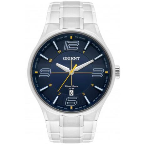 b90c742e69d Relógio Masculino Orient MBSS1307 D2SX Prata - Relógio Masculino ...