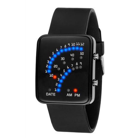 560a28b2426 Relógio Masculino Pulso Led Digital 29 Led Pulseira Silicone - Outras marcas