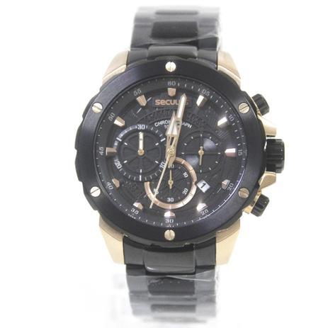 68681a91a7c Relógio Masculino Seculus 13017GPSVIA2 Preto - Relógio Masculino ...