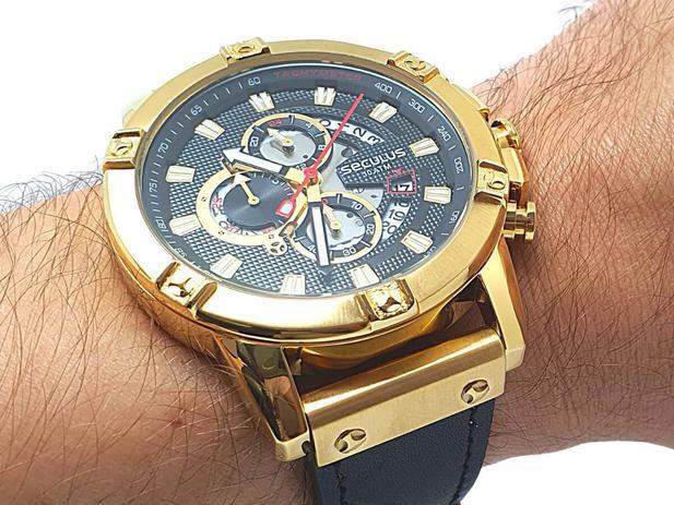 Imagem de Relógio Masculino Seculus 23683GPSVDC1