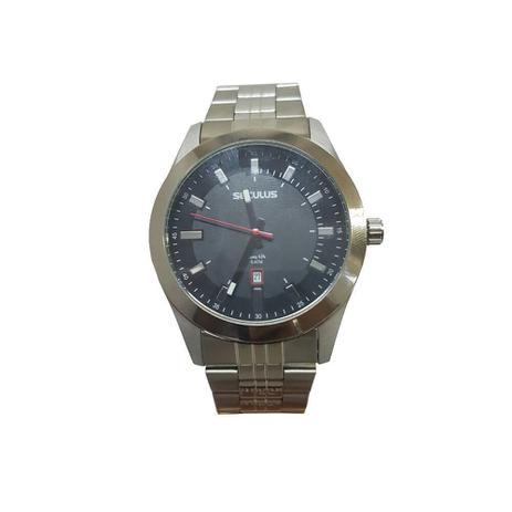 e501f27a128 Relógio Masculino Seculus Analógico - 20408G0SVNA3 - Prata - Relógio ...