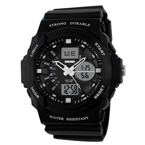 7b62edbf921 Relógio Masculino Skmei Anadigi 0955 Preto - Relógio Masculino ...
