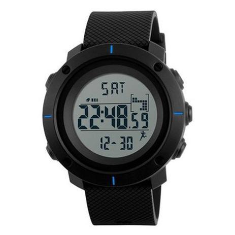 a456682fc74 Relógio Masculino Skmei Digital 1215 - Preto e Azul - Relógio ...
