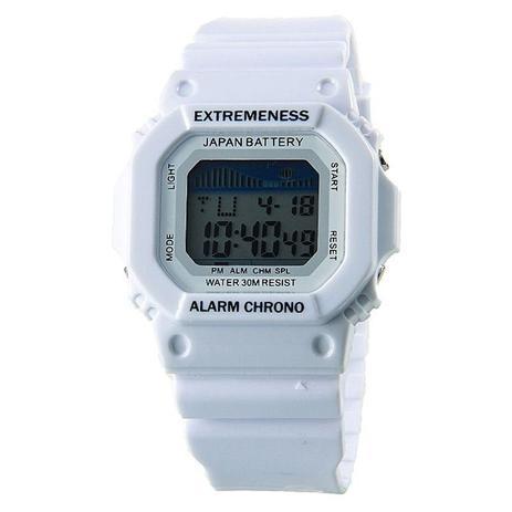 81ff0dd12d4 Relógio Masculino Skmei Digital 6918 Branco - Relógio Masculino ...