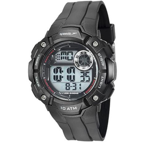 b681fcd2fad Relógio Masculino Speedo Anadigi 80640G0EVNP1 - Preto - Relógio ...