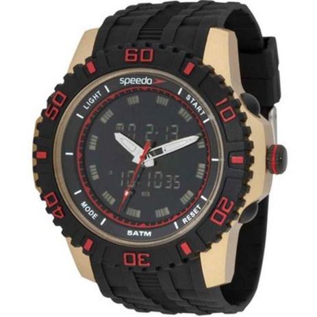 3e66079f6a1 Relógio Masculino Speedo Sport Life Style 81155g0evnp1 Preto ...