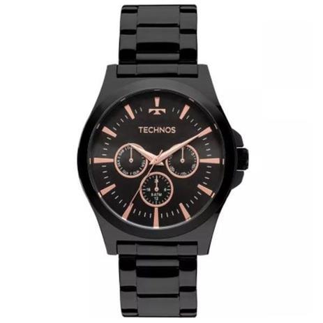 e8e5cc4a481 Relógio Masculino Technos 6P29AJL 4P Aço Preto - Relógio Masculino ...