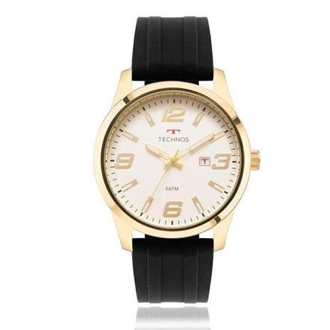 8f4a8d081a659 Relógio Masculino Technos Analógico 2115MOM 8B Borracha - Relógio ...