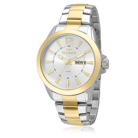 dfef726e4a4c7 Relógio Masculino Technos Analógico 2305AS 5K Aço Misto - Relógio ...