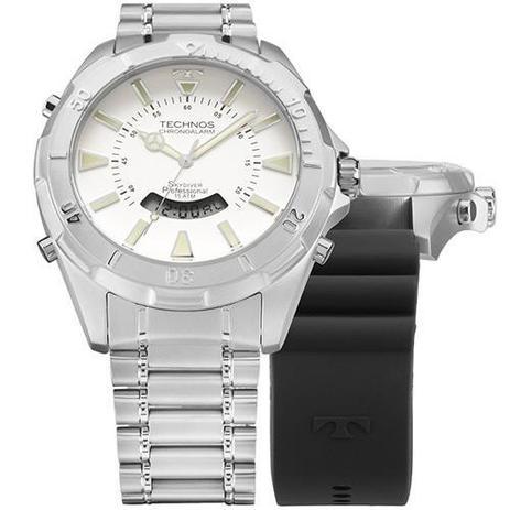 a685da60c44 Relógio Masculino Technos Analógico Casual T205fx 1b - Relógio ...