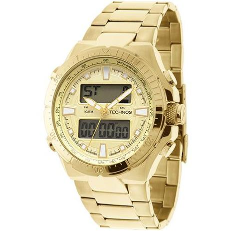 a5d543bfd917a Relógio Masculino Technos Analógico Digital Casual 0527AB 4X ...