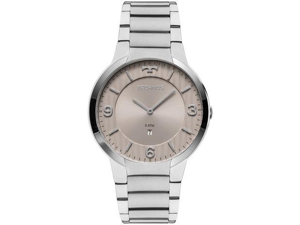 90b762e29ac50 Relógio Masculino Technos Analógico - Slim GL15AO 1C - Relógio ...