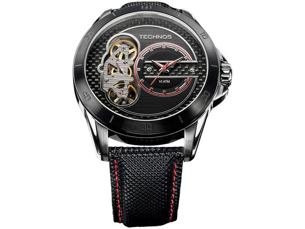 054f1e6c4df Relógio Masculino Technos Analógico - Ts Carbon 2039AP 0P - Relógio ...