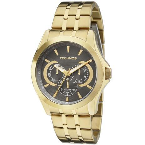 8c1ff3282e7 Relógio Masculino Technos Classic 6P29AIC 4C 47mm Aço Dourado ...