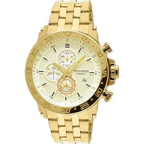cd998553020 Relógio Masculino Technos Classic Legacy JS15AO 4X 50mm Dourado ...
