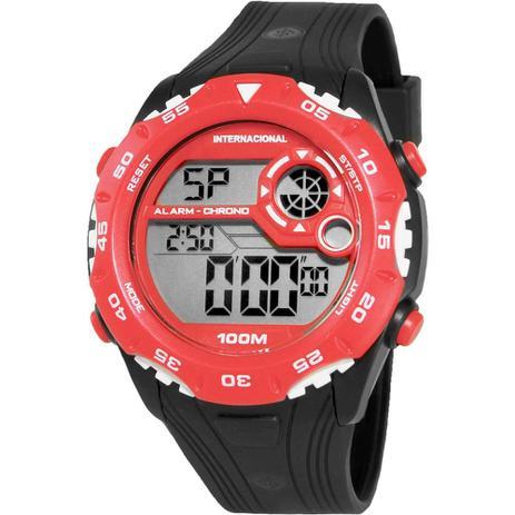d9ea3e5de1b Relógio Masculino Technos Clubes Digital Casual Internacional INT1360 8R