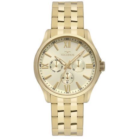 1339718968e91 Relogio Masculino Technos Dourado 6P29AJU 4X - Relógio Masculino ...
