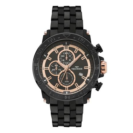 5579d394db9 Relógio Masculino Technos JS15ES 4P 48mm Pulseira Aço Preta ...