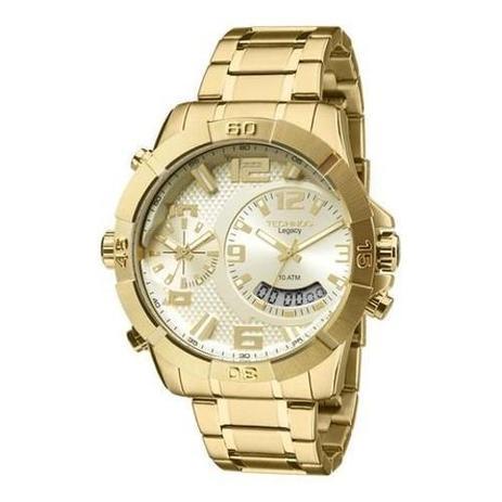 12638a7309aa4 Relógio Masculino Technos Legacy Dual Time T205fi 4x - Relógio ...