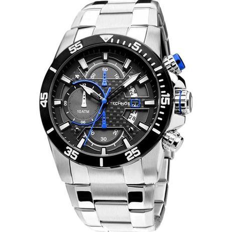 Relógio Masculino Technos OS10ER 1A 50mm Sports Prata - Relógio ... eeb594ade1
