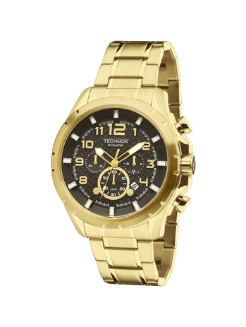 894a68b990b Relógio Masculino Technos Skymaster JS25BF 4P 47mm Dourado - Relógio ...