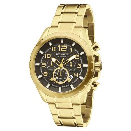 Relógio Masculino Technos Skymaster Js25bf 4p Dourado - Relógio ... 3224b6bac3