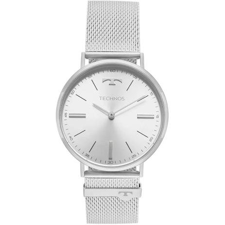 Relógio Masculino Technos Slim 2025LTL 1K - Prata - Relógio ... da6e790c97