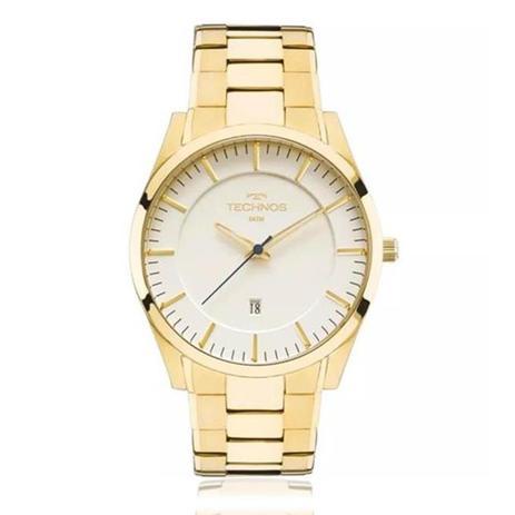 d267a8b770b35 Relógio Masculino Technos Slim Analógico GM10YF 4X Dourado - Relógio ...