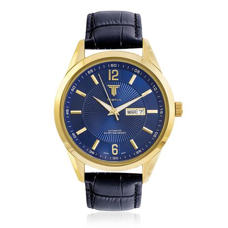 06611efbe19 Relógio Masculino Tempus Elite ZW20136A Gold Blue - Relógio ...