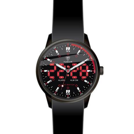 e839c5ec600 Relógio Masculino Tuguir Anadigi TG2118 Preto - Relógio Masculino ...