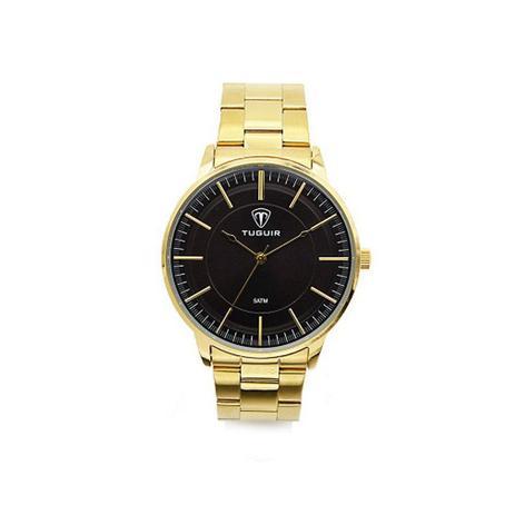 89280ad8428 Relógio Masculino Tuguir Analógico 5000 Dourado - Relógio Masculino ...