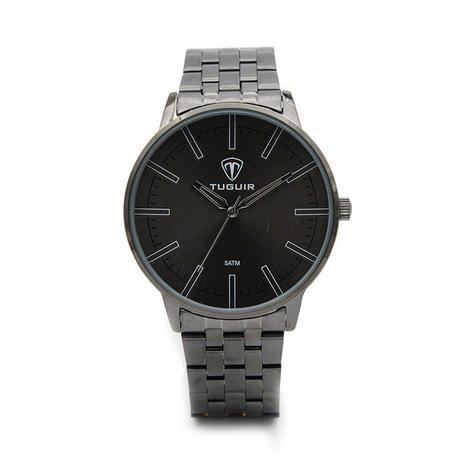 9346562582d Relógio Masculino Tuguir Analógico 5004 Chumbo - Relógio Masculino ...
