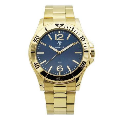 57b168c93d2 Relógio Masculino Tuguir Analógico 5346G Dourado - Relógio Masculino ...
