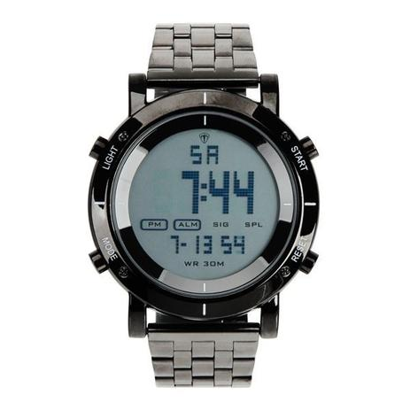 7a0d475399f Relógio Masculino Tuguir Metal Digital TG6017 Preto - Relógio ...