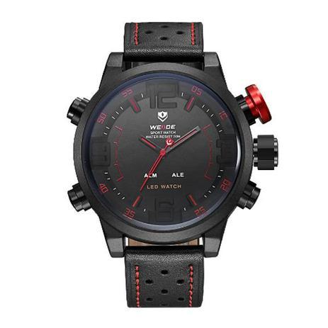 deccc01243d Relógio Masculino Weide Anadigi WH-5210 Vermelho - Relógio Masculino ...