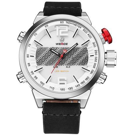 381f14fb404 Relógio Masculino Weide Anadigi WH-6101 BR - Relógio Masculino ...