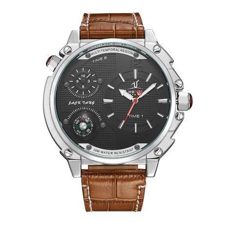 0bcc39e7f3e Relógio Masculino Weide Analógico UV-1507 Preto e Prata - Relógio ...