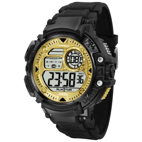 ba574972539 Relógio Masculino X-Games Digital XMPPD476 - Preto Dourado - Xgames ...