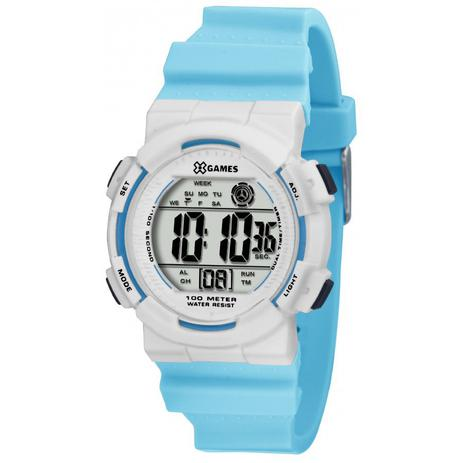 8a8b01ada1f Relógio Masculino X-Games Esportivo Xkppd023 Bxax Azul - Xgames ...