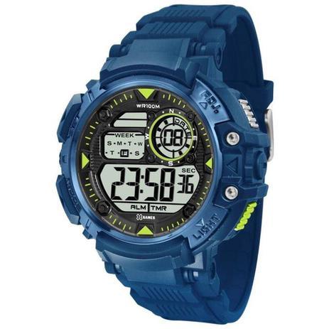 091909715a6 Relógio Masculino X-Games Esportivo Xmppd478 Bxdx - Azul - Xgames ...
