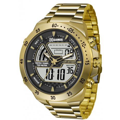 9abd70fcc92 Relógio Masculino X-Games XMGSA004BXKX Dourado - Relógio Masculino ...