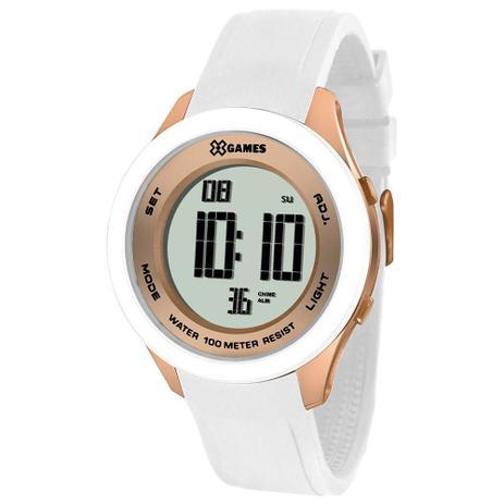 445ee5a967f Relógio Masculino X-Games XMPPD391 BXBX Branco - Xgames - Relógio ...