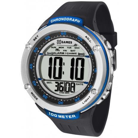 5eec2185cc2 Relógio Masculino X-Games XMPPD393BXPX - Preto - Xgames - Relógio ...