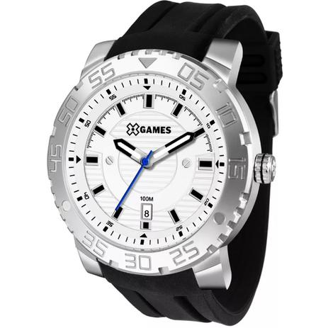 dcee165d3a8 Relógio Masculino X-games Xmsp1010 B2px Prata - Xgames - Relógio ...