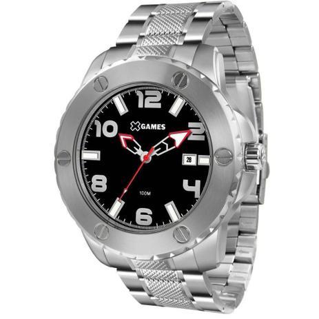 Relógio Masculino X-Games XMSS1042 P2SX Prata - Xgames - Relógio ... 694fdb5079