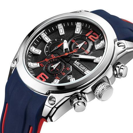 Relógio Megir Modelo 2063 - Relógios - Magazine Luiza 566f853248